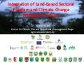 Integration of Land-based Sectoral Program and climate-change mitigation policies