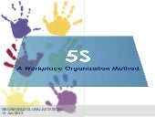 5S: A Workplace Organization Method