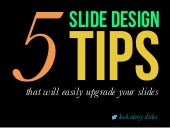 5 Easy Tips to Upgrade Your Slides