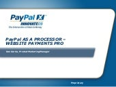 PayPal as a Processor—Website Payme...