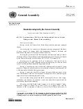 2009 - General Assembly Resolution on Proclamation of 2010 as International Year of Youth: Dialogue and Mutual Understanding, A/RES/64/134