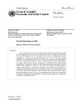 2005 - World Youth Report 2005 (A/6...