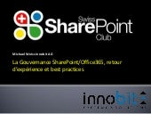 6.swiss_sharepoint_club_gouvernance_sharepoint_office365_best_practices_michael_weiss_innobit