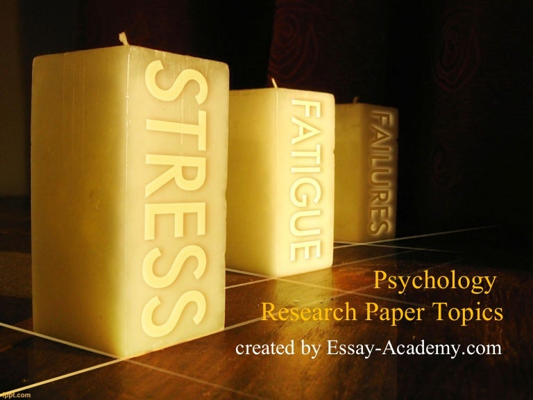 Library research paper topics