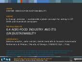 6.4 agri food industry and its unsu...