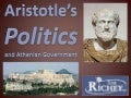 Aristotle Politics and Athenian Government