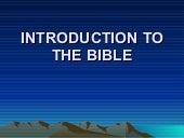 6    Intro To Bible