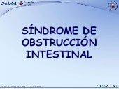 6. Síndrome de Obstrucción Intesti...