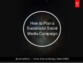 How To Plan A Successful Social Media Campaign
