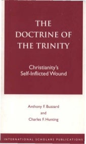 the doctrine of the trinity by a f ...