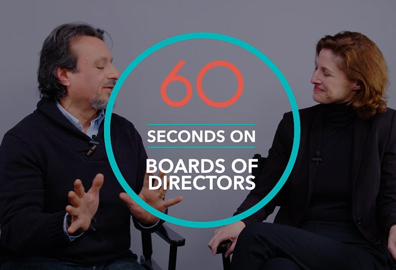 The State of Company Boards