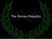 6.1 -The Roman Republic & Punic Wars