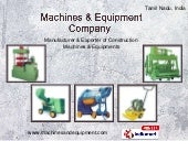Machines and Equipment Company Tami...