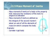 6161103 10.9 mass moment of inertia