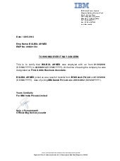 Relieving Letter Experience Certificate Format.  resume