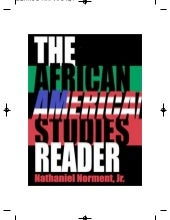 African American Studies Reader-Nat...