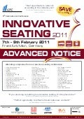 6th International Conference Innovative Seating 2011