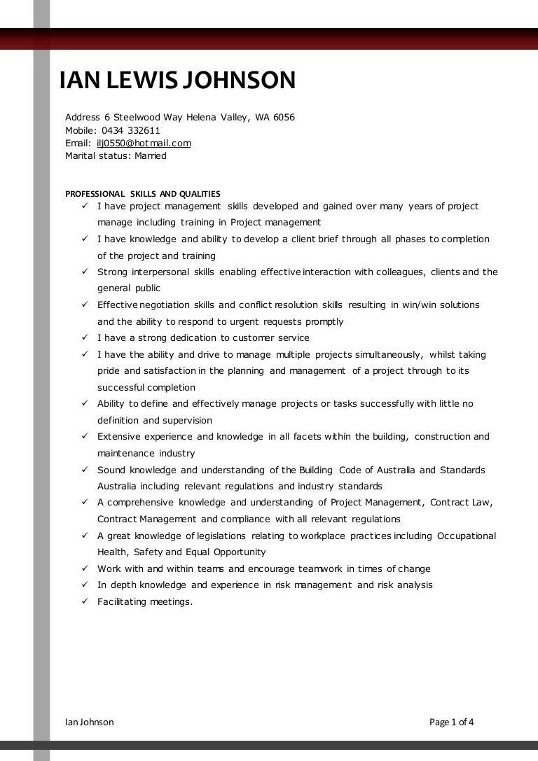 resume feb
