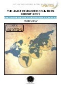 UNCTAD - The Least Developed Countries Report 2011 - Overview