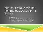 Future Learning Trends
