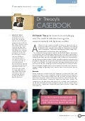 Dr Treacy's CASEBOOK 'Treating pectus excavatum medically with hyaluronic acid filler'.