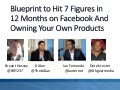 Blueprint to Hit 7 Figures in 12 Months on Facebook