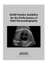 AIUM Practice Guideline for the Per...