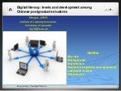 Digital literacy: levels and develo...