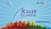 2nd Annual Killer Content Awards: Honoring The World's Best B2B Content Marketing Programs