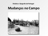 6º mudancas no campo
