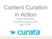Content Curation In Action
