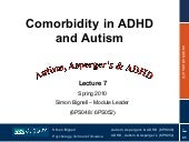 Topic 7 - Comorbidity in ADHD and A...