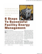6 steps to successful facility ener...
