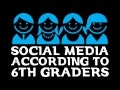 SOCIAL MEDIA ACCORDING TO 6TH GRADERS