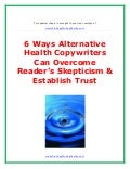6 ways to overcome your readeræs skepticism