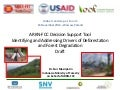 A draft for ARKN-FCC Decision Support Tool "