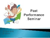 7. past performance_seminar