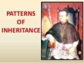 7. Patterns of Inheritance