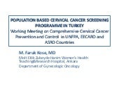 Population Based Cervical Cancer Sc...