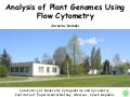 Analysis of Plant Genomes Using Flow Cytometry