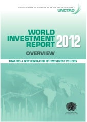 World Investment Report 2012 - Towa...