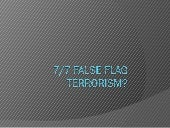 7:7 false flag operation