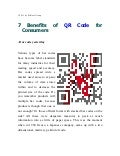 7 benefits of qr code for consumers