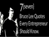 7 Bruce Lee Quotes for Every Entrepreneur