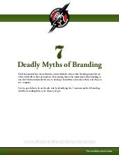 7 Deadly Myths Of Branding