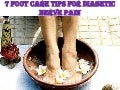 7 foot care tips for diabetic nerve