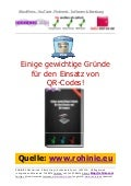 7 Gruende für QR-Codes im Content-Marketing