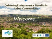 Urban Environmental Benefits Conference Oct 2015 Pitches