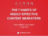 7 habits of highly effective conten...