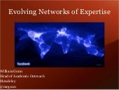 ESIP FED Spring 2012: Evolving Networks of Expertise
